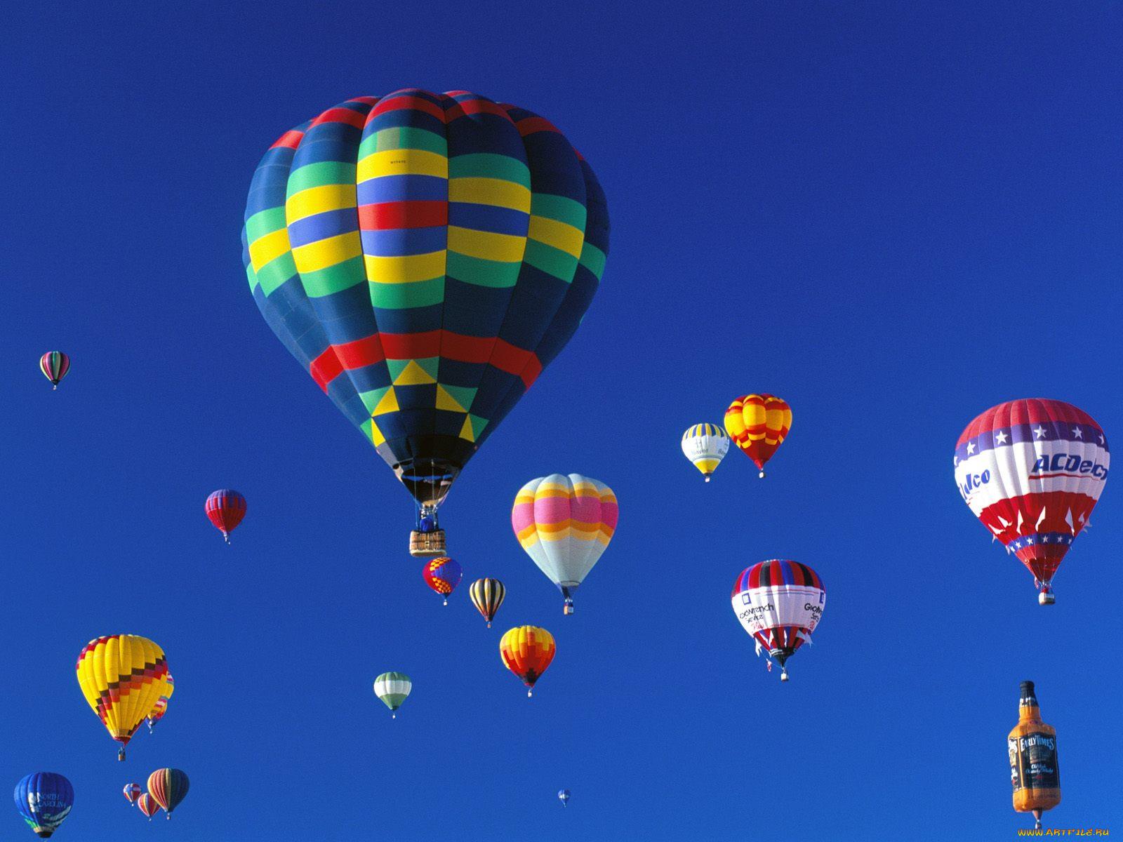 картинка с летающими шарами наступлением лета